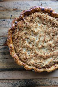 Henry's Apple Crumble Pie